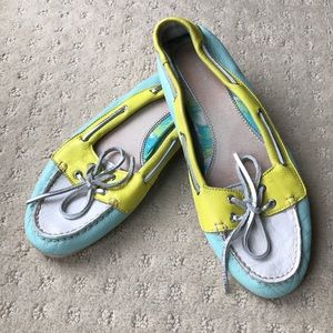 Sperry Top-Sider Colorblock Boat Shoes